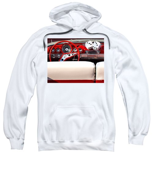 Drive-in Lounge - 1960 Chevy Sweatshirt