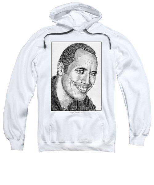 Dwayne Johnson In 2007 Sweatshirt