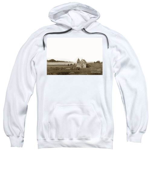 Early Carmel Mission And Point Lobos California Circa 1884 Sweatshirt