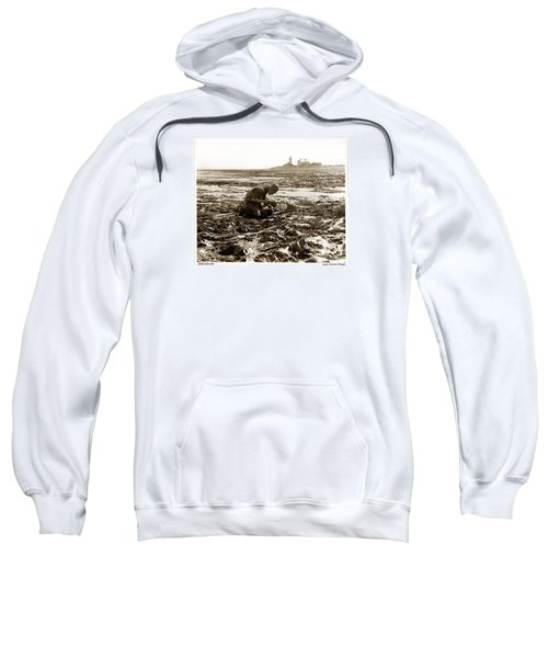 Ed Ricketts At Point Wilson Lighthouse In Port Townsend Wa July 1930 Sweatshirt