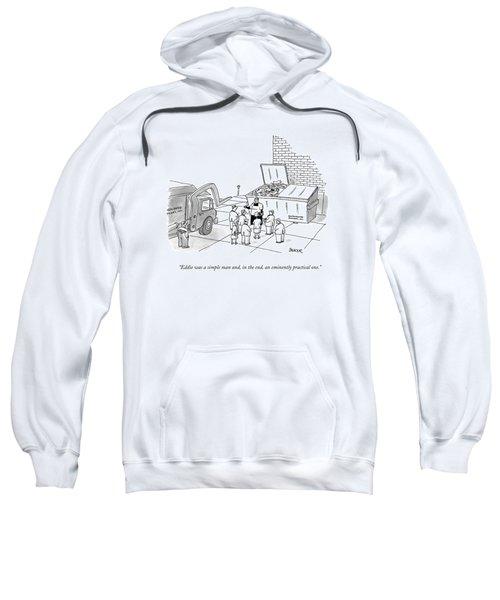 Eddie Was A Simple Man Sweatshirt
