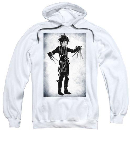 Edward Scissorhands - Johnny Depp Sweatshirt by Ayse Deniz