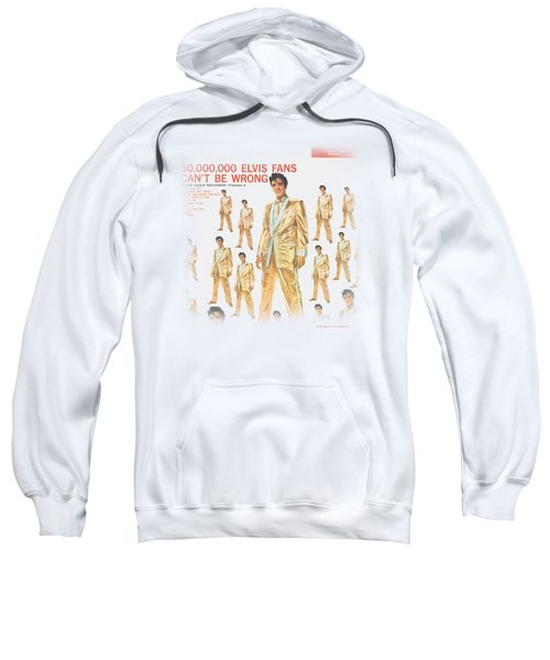 Elvis - 50 Million Fans Sweatshirt by Brand A