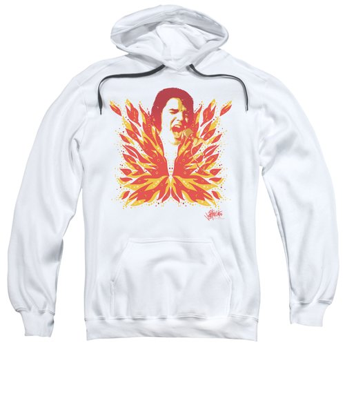 Elvis - His Latest Flame Sweatshirt