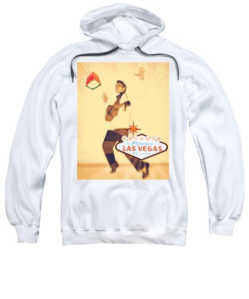 Elvis On Tv Sweatshirt
