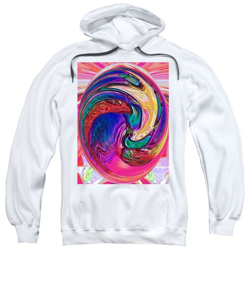 Emergence - Digital Art Sweatshirt