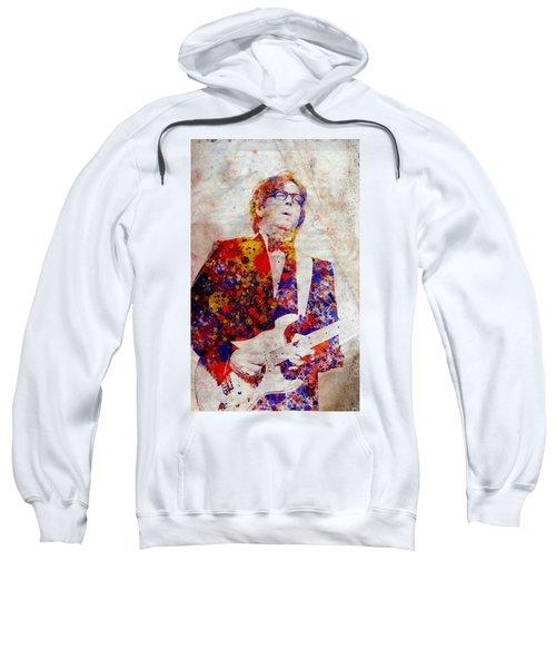 Eric Claptond Sweatshirt by Bekim Art