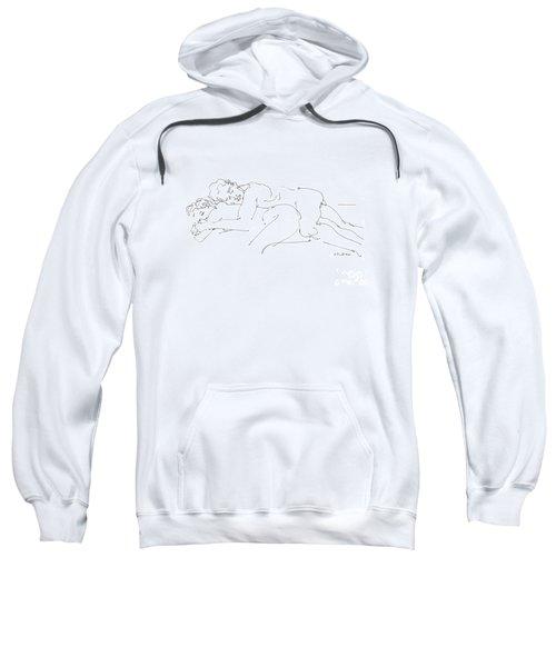Erotic Art Drawings 2 Sweatshirt