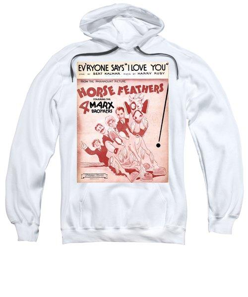 Evryone Says I Love You Sweatshirt