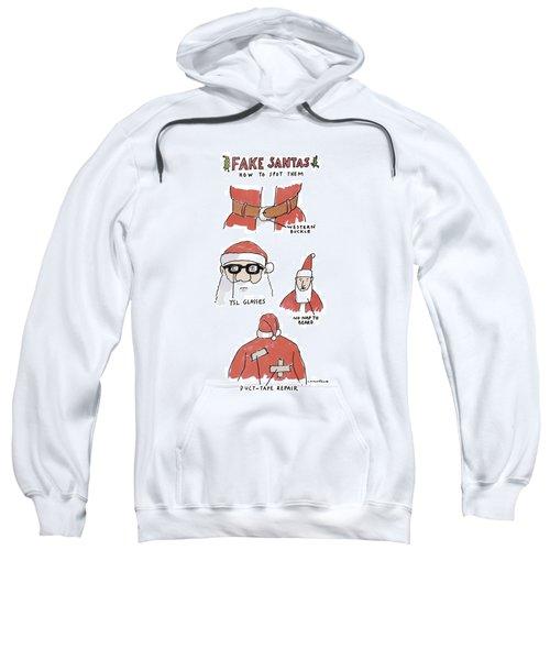 Fake Santas Sweatshirt