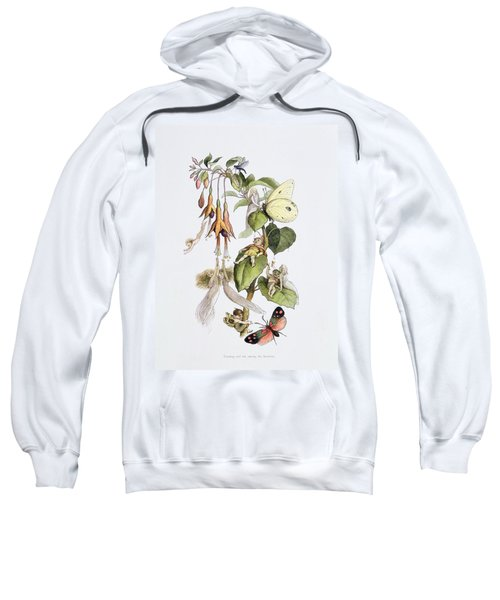 Feasting And Fun Among The Fuschias Sweatshirt