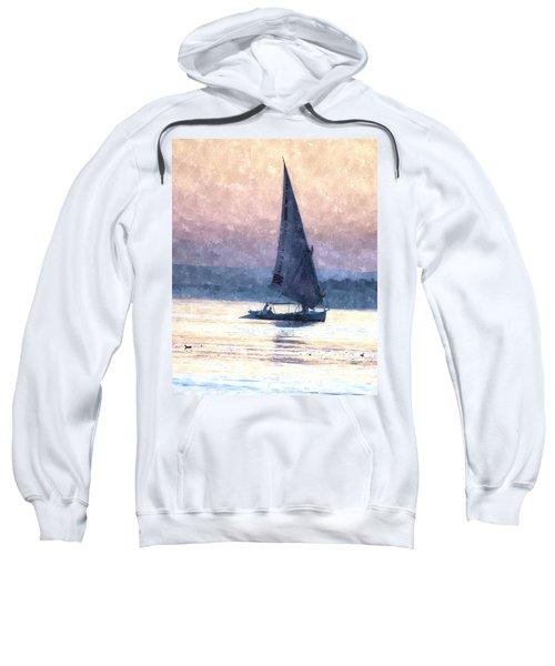 Felucca Water Colour Sweatshirt