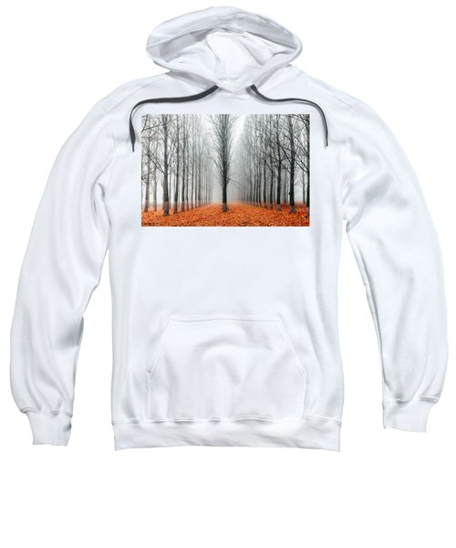 Sweatshirt featuring the photograph First In The Line by Evgeni Dinev