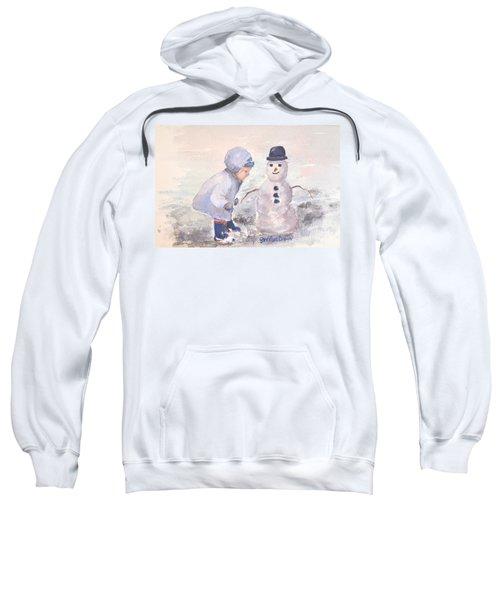 First Snowman Sweatshirt