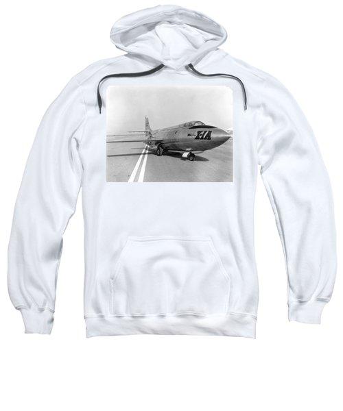 First Supersonic Aircraft, Bell X-1 Sweatshirt