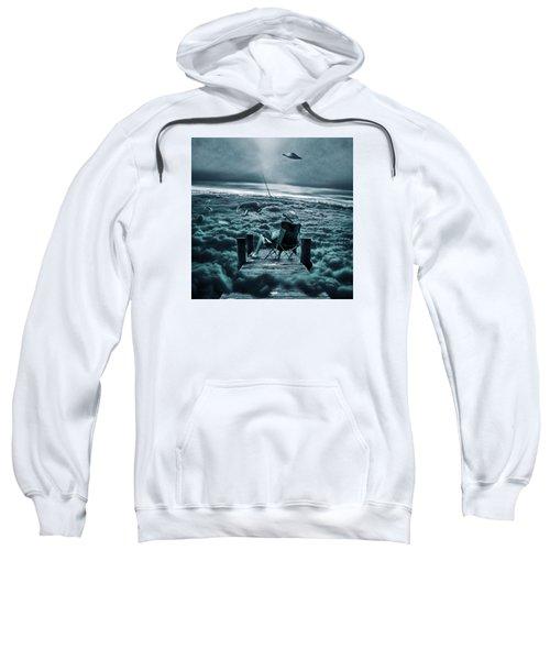 Fishing Above The Clouds Sweatshirt