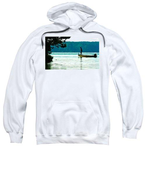 Fishing Crab Orchard Lake Sweatshirt