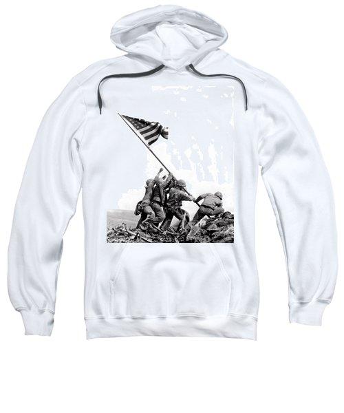 Flag Raising At Iwo Jima Sweatshirt