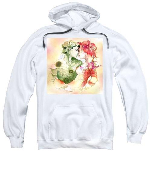 Flower And Leaf Sweatshirt