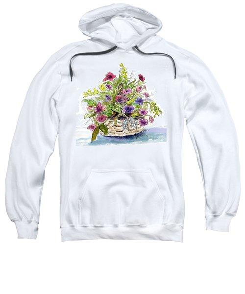 Flower Basket I Sweatshirt