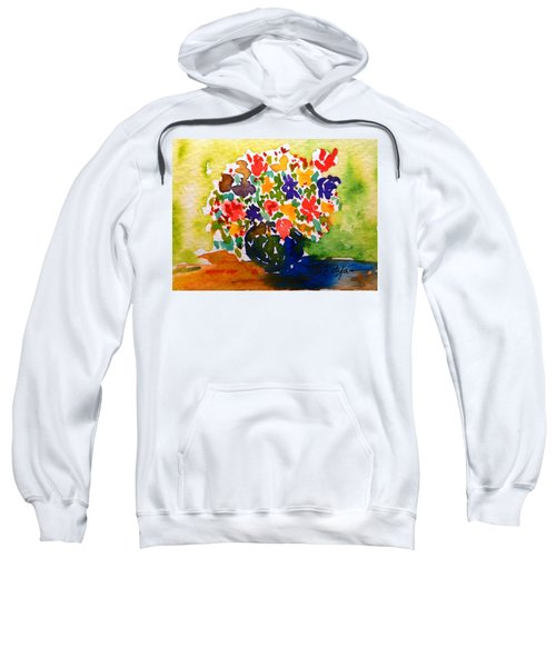 Flowers In A Vase Sweatshirt