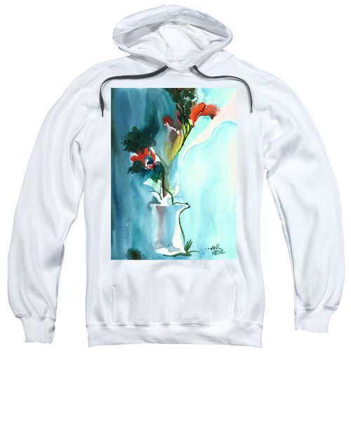 Flowers In Vase Sweatshirt