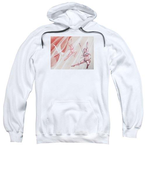 Flying Dancers  Sweatshirt