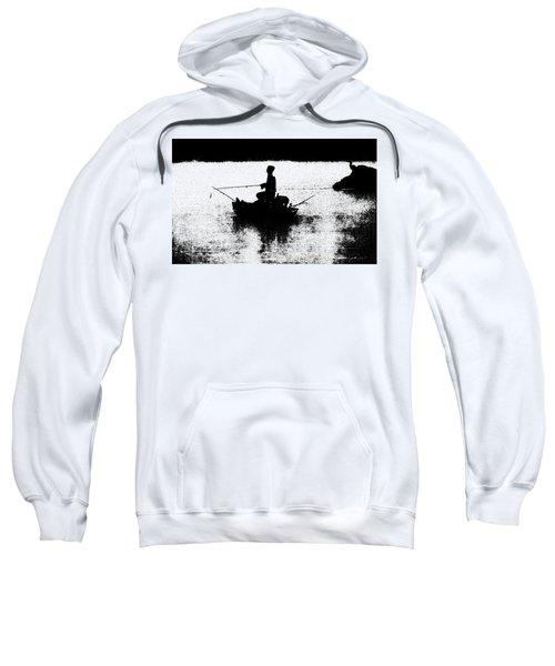 Foggy River Dawn Sweatshirt