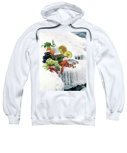 Food On Ice Sweatshirt