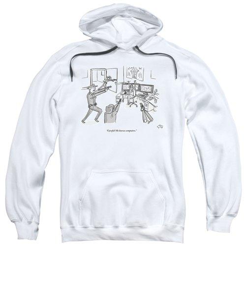 Four Cops Swarm Sweatshirt