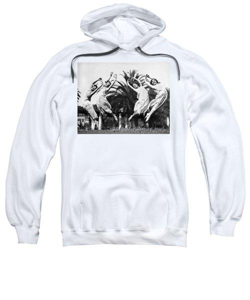 Four Leaping Grecian Dancers Sweatshirt