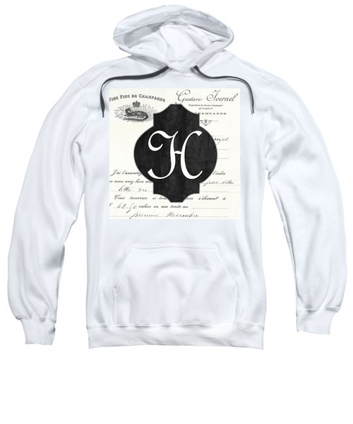 French Champagne Monogram Sweatshirt