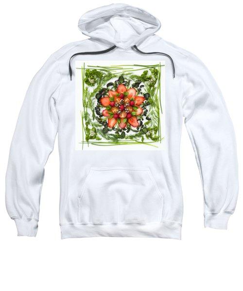 Fresh Fruit Salad Sweatshirt by Anne Gilbert