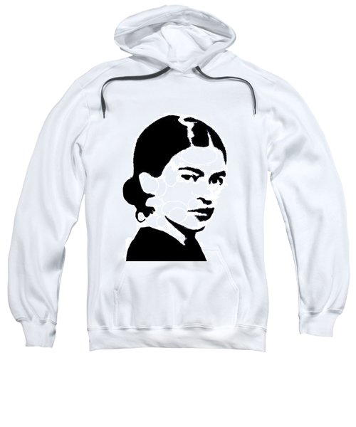 Frida Black And White Sweatshirt