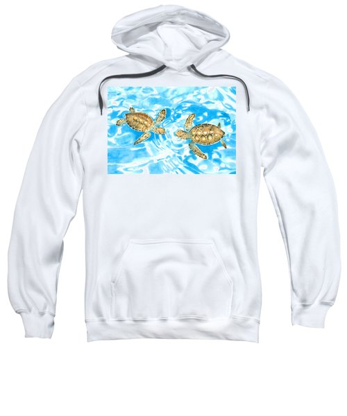 Friends Baby Sea Turtles Sweatshirt