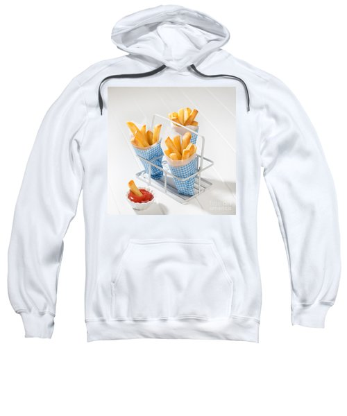 Fries Sweatshirt by Amanda Elwell