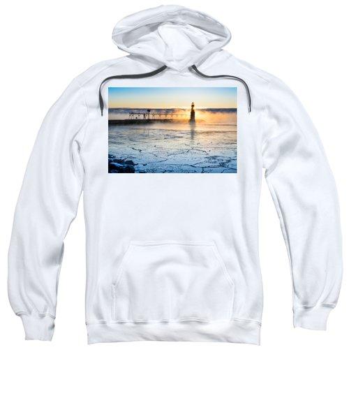 Frigid Sunrise Fog  Sweatshirt