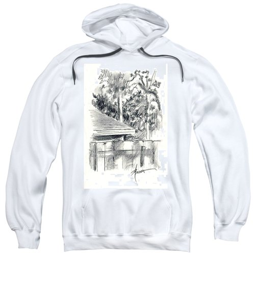 From The Breakfast Room Window Sweatshirt