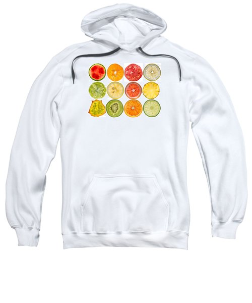Fruit Market Sweatshirt by Steve Gadomski