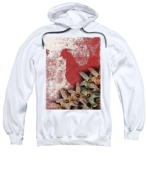 Garden Rooster Sweatshirt