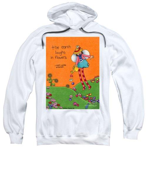Gardener Angel Sweatshirt