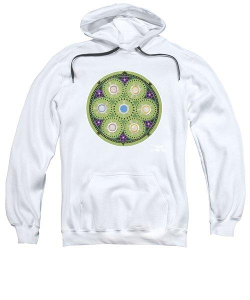 Cradleboard Beadwork Sweatshirt