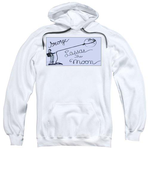 George Lassos The Moon Sweatshirt