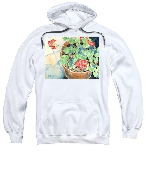 Geraniums Sweatshirt