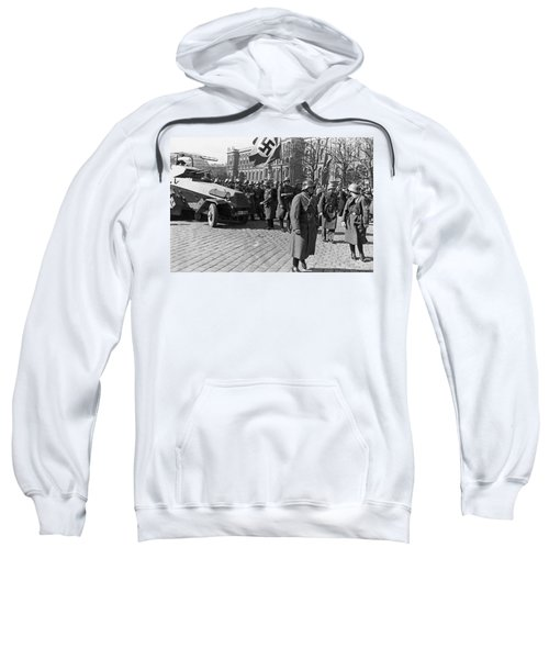 German Panzer In Vienna Sweatshirt