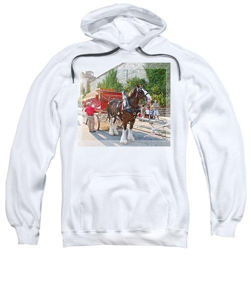 Getting Hitched Sweatshirt