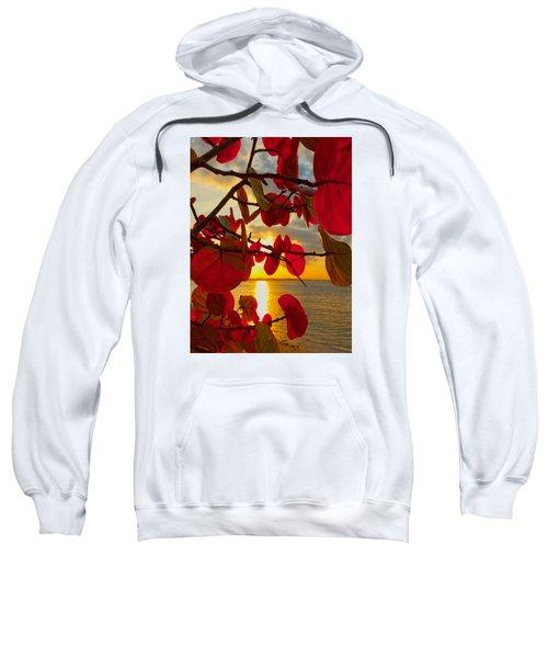 Glowing Red Sweatshirt