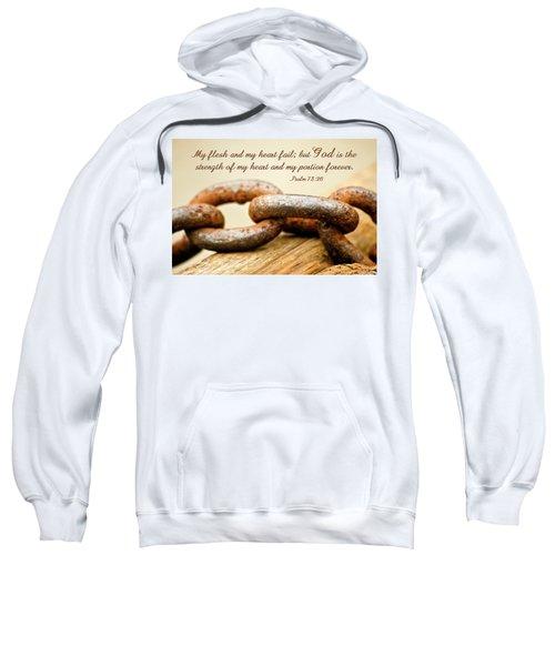 God Is My Strength Sweatshirt