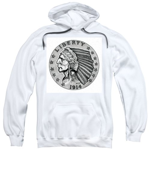 Gold Quarter Eagle Sweatshirt