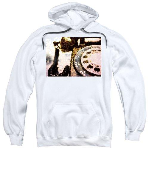 Gold Rotary Phone Sweatshirt